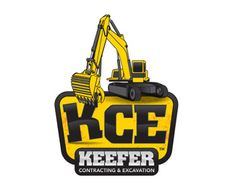 KCE Keefer Contracting & Excavation construction logo