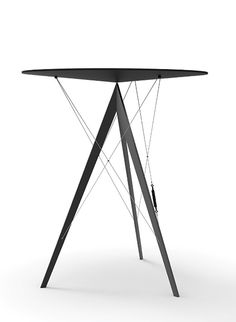 Tension Side Table | Designer: Choo Seongmin #contemporarydesign side tables #contemporarysidetable living room design #contemporarylivingroom . See more at www.coffeeandsidetables.com