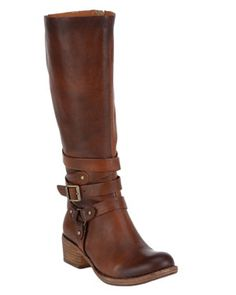 tall brown boot by kork-ease