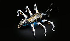In jeder Ameise sind zahlreiche Komponenten, Technologien und Funktionen auf engstem Bauraum kombiniert