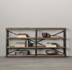 French Library Console - Natural Antiqued Iron Want this.  Come on its only 1295.00 Pllllleeeeeaaaasssseee....