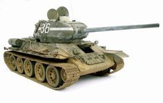 T-34/85 Soviet Red Army Tank, Russia