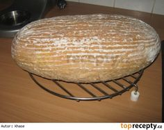 Chleba podle Romana Vaňka Pavlova, Dairy, Food And Drink, Cooking Recipes, Sweets, Cheese, Baking, Cake Ideas, Breads