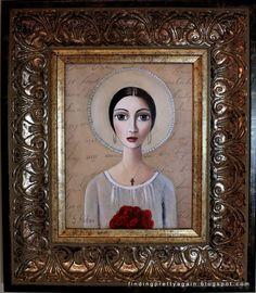 Sandra Pelser art - Google Search South African Artists, Encaustic Art, Mini Paintings, Art Google, Painting Inspiration, Art Forms, Female Art, Adult Coloring, Framed Art