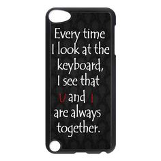 Life Quotes Love Together Apple Ipod 5 touch case $ 16.89
