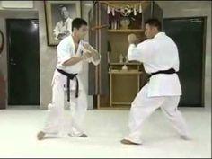 ▶ Using Gedan Mawashi Geri (low roundhouse kick) for Takedowns - Matsui Kancho - YouTube