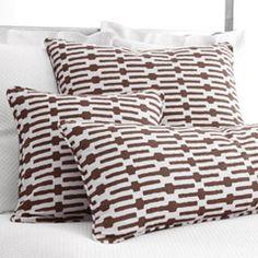 Pine Cone Hill Links Tobacco Decorative Pillows PCHDPLKTODB