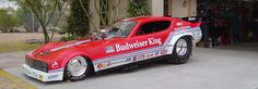 budweiser race car