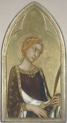 Simone Martini, St. Catherine of Alexandria, National Gallery of Canada