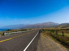 Route longeant la côte pacifique vers San Francisco - Notre voyage dans l'ouest américain sur www.voyage-aux-etats-unis.com/j3-san-luis-obispo-san-francisco/