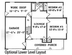 Plan Garage with a Fabulous Guest Apartment Above – Granny pods backyard cottage Garage Apartment Plans, Garage Apartments, One Bedroom Apartment, Luxury Apartments, Cottage Floor Plans, Country House Plans, Architectural Design House Plans, Architecture Design, Cottage Design