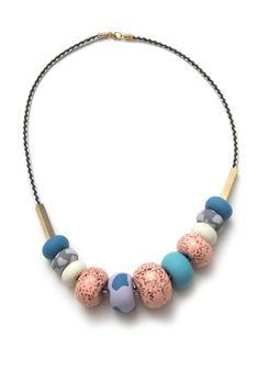 Brandy big bead necklace | Emily Green
