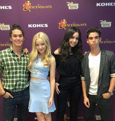 The descendants cast I just love them all