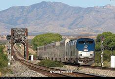 RailPictures.Net Photo: AMTK 18 Amtrak GE P42DC at Benson , Arizona by Craig Williams