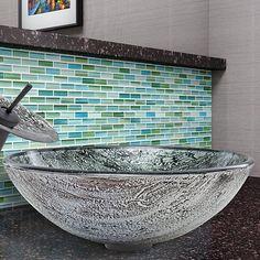 Glass Vessel Bathroom Sink                                                                                                                                                     More