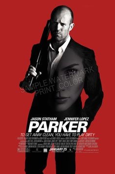 PARKER (Jason Statham) - MOVIE POSTER - FREE S/H | eBay