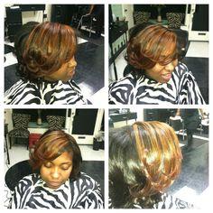 Highlights Natural hair
