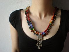 Crocheted Necklace------OMG what Beauty !!!