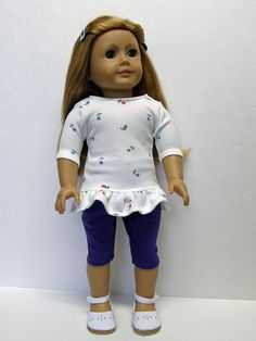 American Girl doll clothes  tunic top and by Unendingtreasures, $16.00