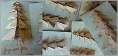 """Christmas origami by """"A la campagne"""""""