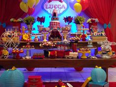 Love the Circus party!