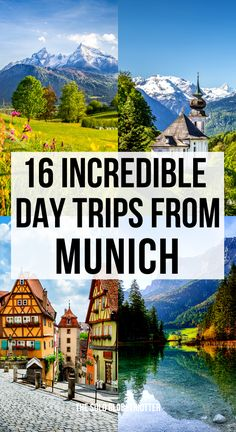 Day trips from Munich Germany | Day trips from Munich in Winter | Top day trips from Munich | Best day trips from Munich | Day trip from Munich to Salzburg | Day trips from Munich with kids | Day trips from Munich with family | Munich day trips | Day trip from Munich to Nuremberg | Munich to Neuschwanstein Castle day trip | Day trips in Bavaria | Bavarian towns | Bavaria towns From UNESCO heritage sites to stunning lakes, day trips from #Munich to plan #Munichtravel  #Daytripsfrommunich Europe Destinations, Europe Travel Guide, Travel Guides, Cool Places To Visit, Places To Travel, Excursion, Explorer, Berlin, Travel Advice