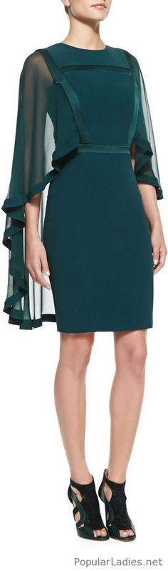 Green dress with a nice design