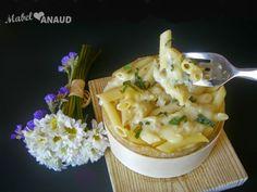 MACARRONES EN FONDUE DE TORTA DEL CASAR... para los amantes del queso