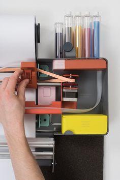 PAUL MORIN - Imprimante Imprimante inusable où chaque pièce est visible et remplaçable.Cartouche d'encres remplissables.