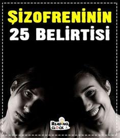 Şizofreninin 25 Belirtisi….