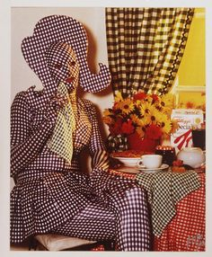 The artificial you, that you project while you cry in secret. Leigh Bowery.. www.fashion.net