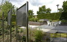 Watertuin aan het water, gerealiseerd door allintuinen.nl