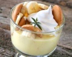 Mousse légère à la banane et aux poires - Une recette CuisineAZ