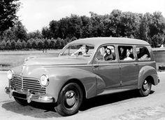 Peugeot 203, 1950s