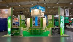 The #Eurokey exhibition stand