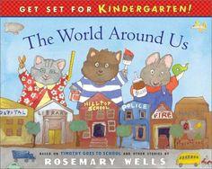 The World Around Us: Social Studies (Get Set for Kindergarten, # 3)