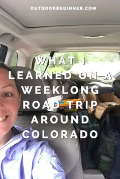 What I learned on a weeklong road trip around Colorado Road Trip Hacks, Colorado, Learning, Tips, Aspen Colorado, Advice, Studying, Study, Teaching