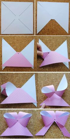 Make a paper bow