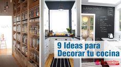 9 trucos sencillos para redecorar tu cocina - http://xn--decorandouas-jhb.net/trucos-redecorar-la-cocina/