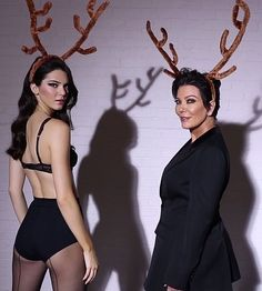 Kendall Jenner got it from her mama!