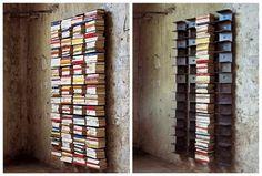 Bijou Living   Blog: Design Lover: Rainaldi's Ptolomeo Wall Bookcase