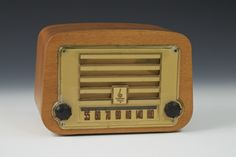 Plywood radio, Charles #Eames, Gregg Museum at NC State University, Purchased by the Friends of the Gregg