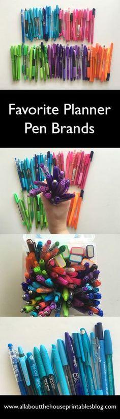 planner pen brands b