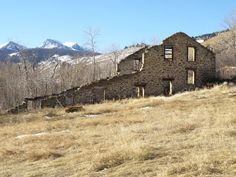 The Old Mill at Pony, Montana