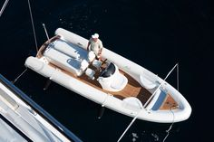 Tender to Helix #rib #boat #yachting