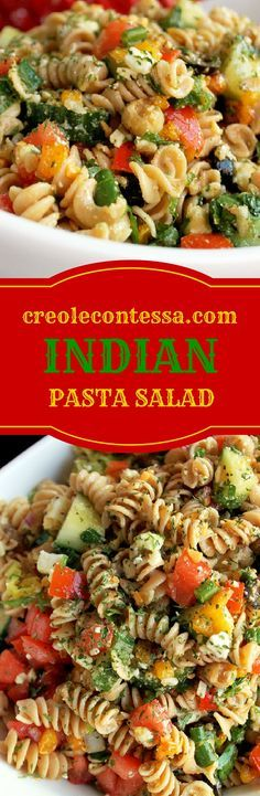 Indian Pasta Salad-Creole Contessa