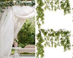 Wedding AccessoriesBridal AccessoriesWedding by BellasBloomStudio Wedding Arch Rustic, Garland Wedding, Wedding Backdrops, Greenery Centerpiece, Greenery Garland, Aisle Flowers, Wedding Flowers, Cheap Wedding Decorations, Wedding Ideas