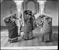 Dancing Girls in Delhi, India in the 1860s