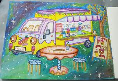 Sweets and Dishes, colorido por @lelescristiane