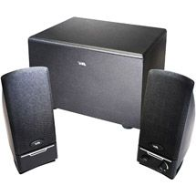 Walmart: Cyber Acoustics 2.1 3-Piece Computer Speaker System with Subwoofer